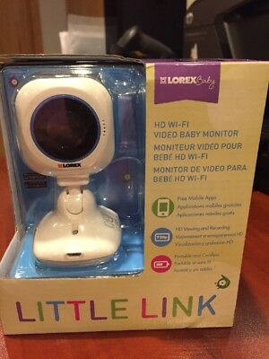 Lorex Baby - Little Link Wireless High-Definition Baby Monitor/Mfg. Sealed Box Lorex Wireless Monitor