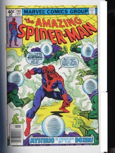 THE AMAZING SPIDER-MAN #198 NOV 1979 MYSTERIO ISSUE COMIC VERY FINE+