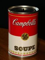 COLLECTIBLE - CAMPBELL'S SOUP CAN BANK
