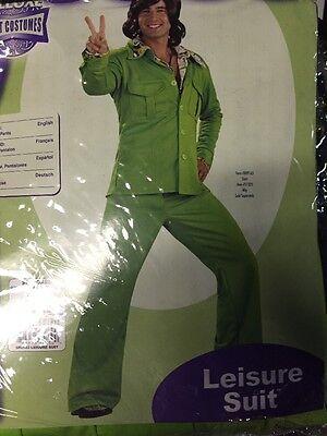 Adult Green Leisure Suit Costume Rubies
