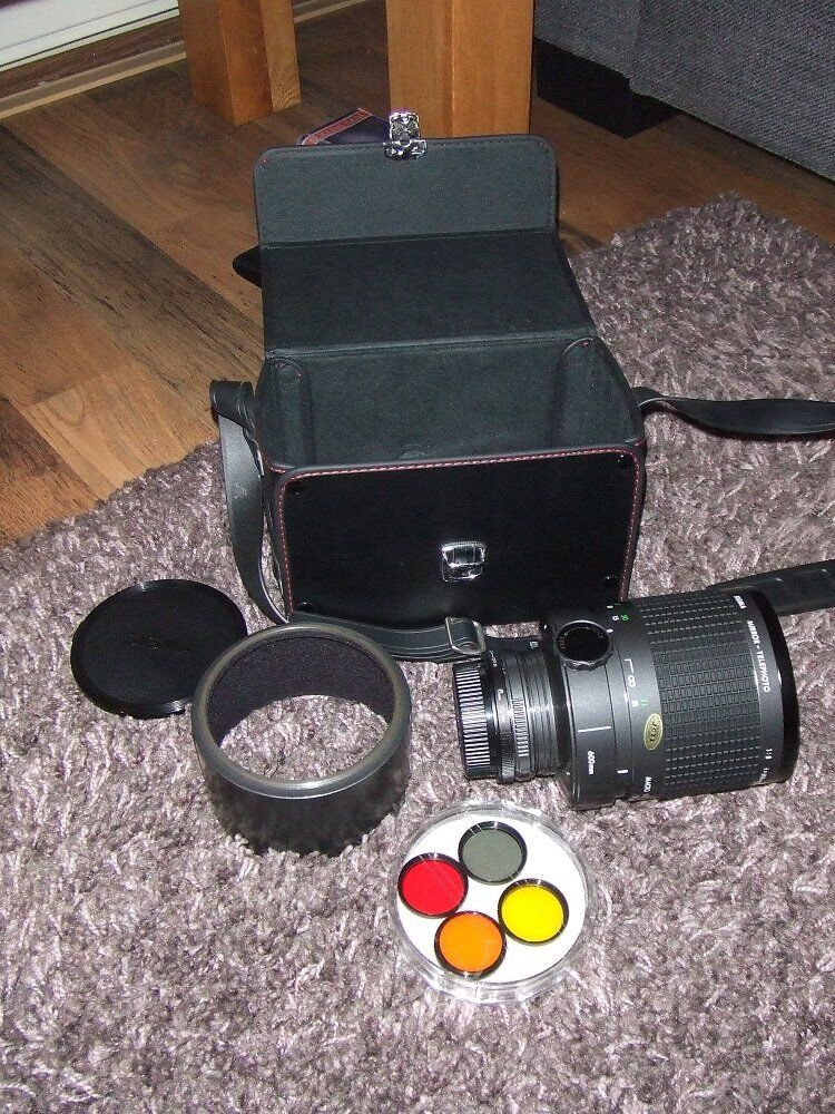 Sigma mirror lens for Nikon