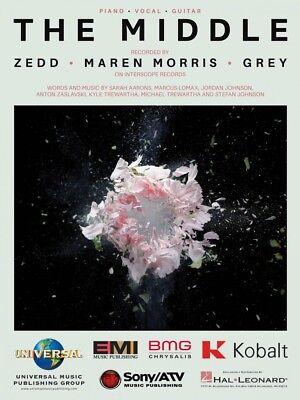 The Middle Sheet Music Piano Vocal Grey Maren Morris Zedd NEW 000279033