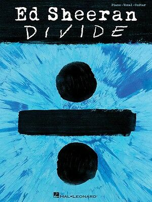 Ed Sheeran Divide Sheet Music Piano Vocal Guitar SongBook NEW 000233553