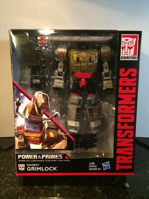 Transformers Generations Power Of The Primes Voyager Class Grimlock In Hand
