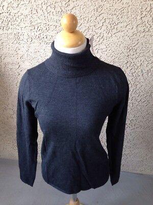Philosophy Women's Gray Long Sleeve Turtleneck Sweater Size XS New