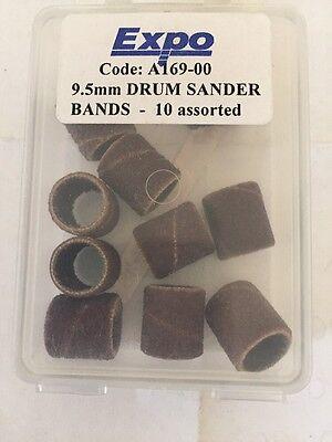 9.5mm Drum Sander Bands 20 Assorted