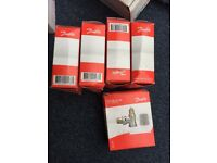 Danfoss RA-FN 15 Vertical Angled Valve 013G0023 - 1/2