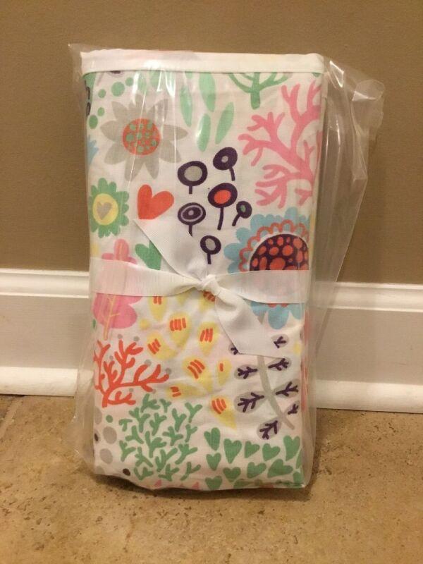 NEW Pottery Barn Kids Margherita Missoni Printed Floral Crib Skirt MULTI