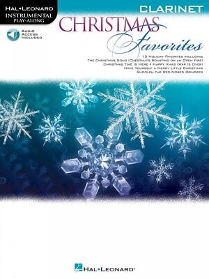 Christmas Favorites Clarinet Instrumental Play-Along Book and Audio 000236533