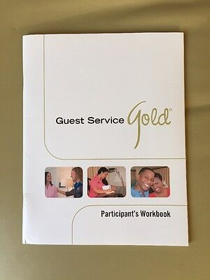 NEW Guest Service Gold Participant's Workbook By AHLEI