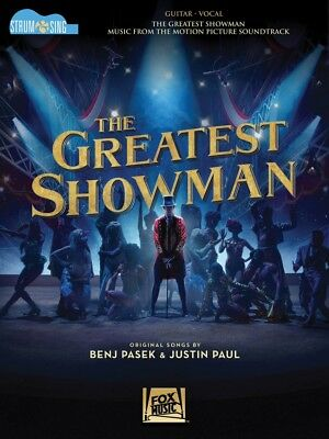 The Greatest Showman Strum & Sing Sheet Music from Movie Soundtrack 000278383
