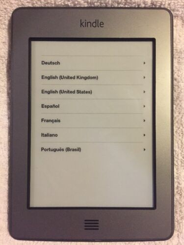 Amazon Kindle Model #D01200 wifi