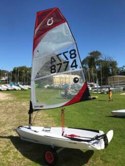 Open Bic dinghy and dolly For Sale