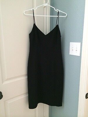 Womens J  Crew Black Holiday Christmas Dress Size 4