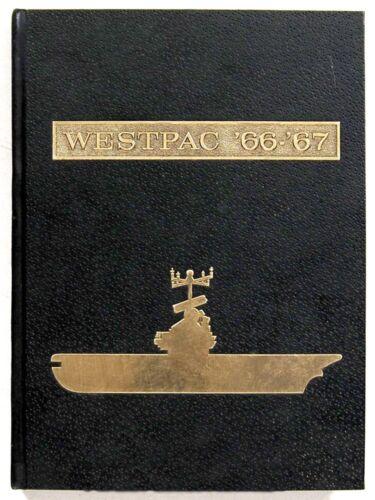 USS BENNINGTON CVS-20  1966-1967  WESTPAC VIETNAM CRUISE BOOK