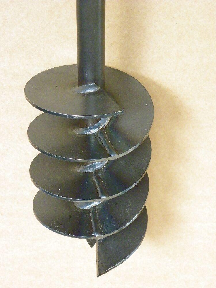 Forage en t te 150 mm tari re main puits tariere auger for Tariere manuelle forage puit