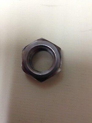 9/16-18 Hex Jam Nuts Fine Thread Plain Steel Thin Nuts 9/16