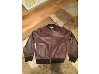 Cherokee men's leather jacket xl