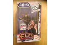 Mattel WWE Elite Exclusive Undertaker 20 - 0 Wrestling Action Figure