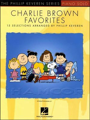 Charlie Brown Favorites Piano Solo Sheet Music Book Phillip Keveren Linus Lucy ()