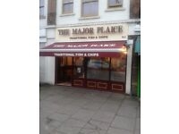 very profitable self running fish & Chips restaurant and take away for sale
