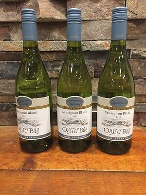 3-  2015 Bottles Oyster Bay Sauvignon Blanc New Zealand
