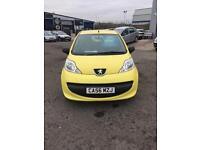 PEUGEOT 107 URBAN LITE (yellow) 2007