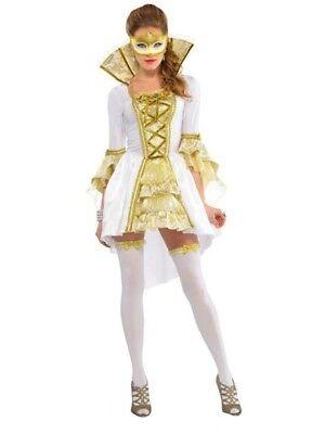 Damen Venezianische Maskerade Ball Karneval Historisch Kostüm Kostüm - Damen Maskerade Kostüme