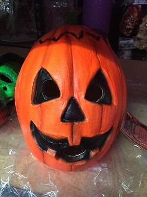 Officially Licensed Pumpkin Halloween 3 Mask Horror H3 Season of the Witch - Halloween 3 Season Of The Witch Masks
