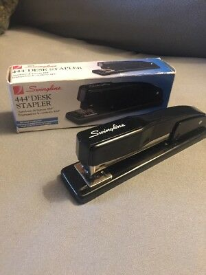 Swingline Commercial Desk Stapler All-metal Black Model 444