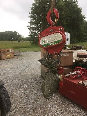 Little Mule Lmha 3 Ton Manual Hand Chain Hoist 10 Lift 6000 Lb Capacity