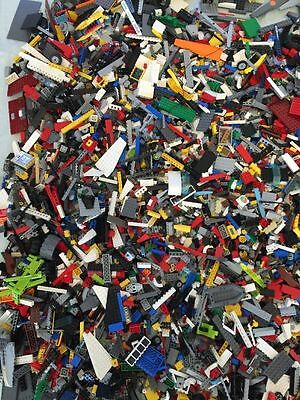 498+ Clean Lego Pieces Random Set HUGE LOT WITH MINIFIGURES Washed and Sanitized
