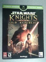 Star Wars Knights of the Old Republic Prima's Strategy Guide