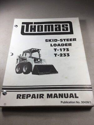 Thomas T-173 T-233 Skid Steer Loader Service-repair Manual