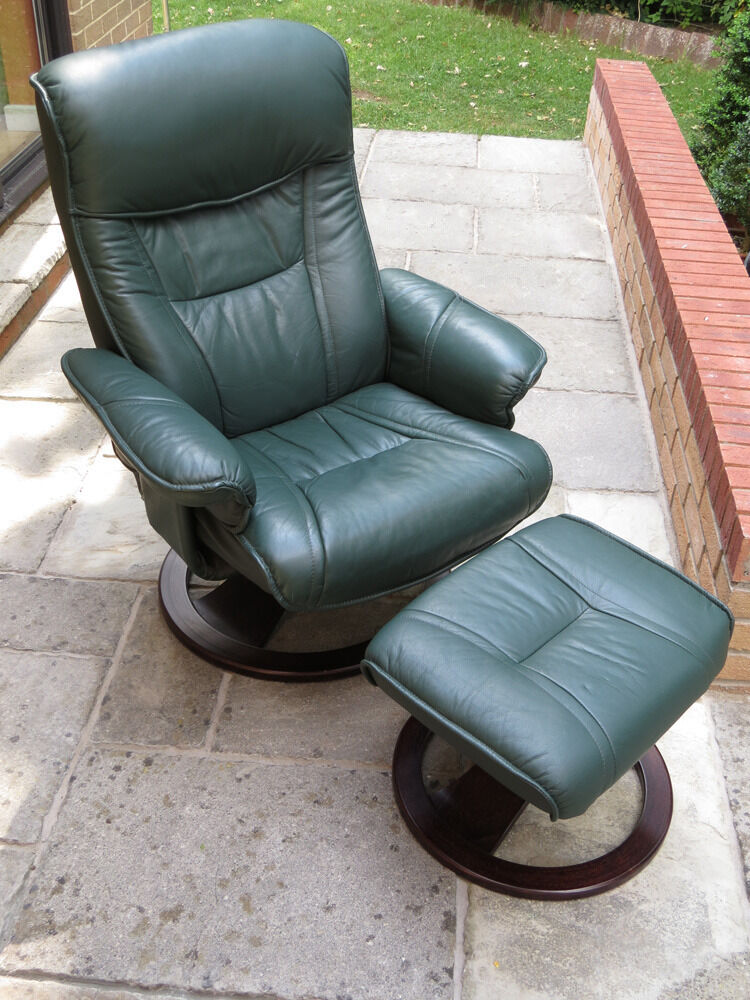 Recliner swivel chair with foot stool in gloucestershire gumtree - Swivel feet for chairs ...