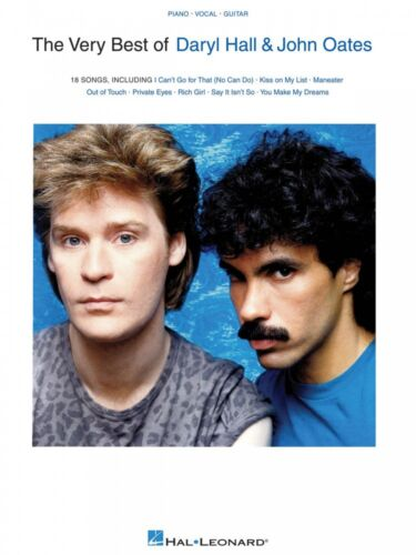 The Very Best of Daryl Hall & John Oates Sheet Music Piano Vocal Guit 000148169