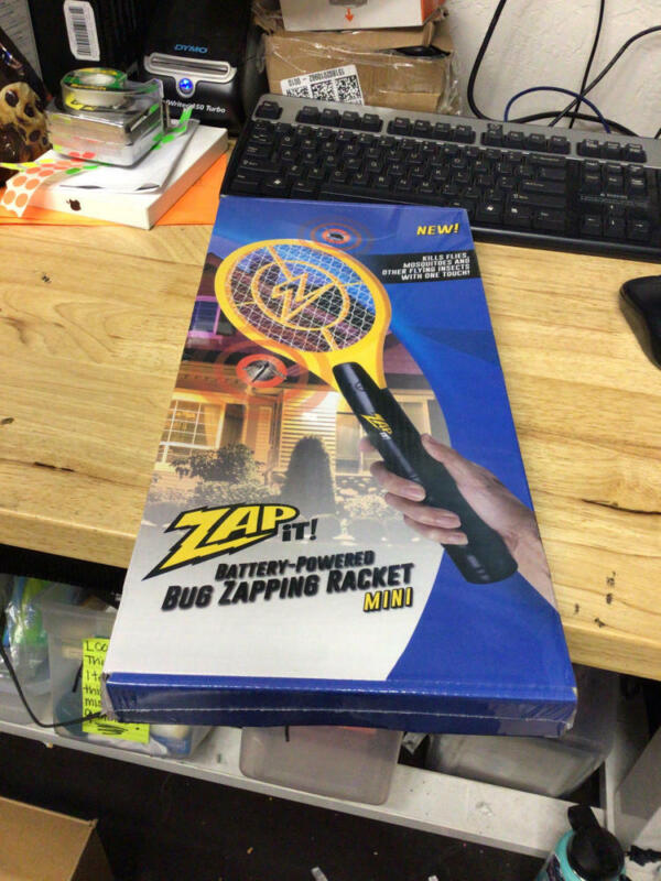 ZAP IT! Bug Zapper - Battery Powered (2xAA) Mosquito, Fly Killer and Bug Zapper