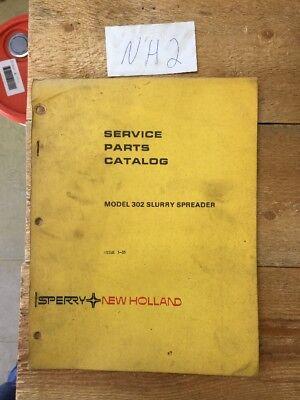 New Holland 302 Slurry Manure Spreader Parts Catalog Book Manual 385