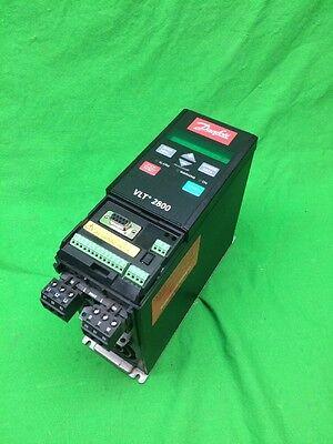 Danfoss Vlt 2800 Variable Speed Drive 195n1013 480v 1.9a