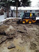 Cleaning up yards & commercial properties