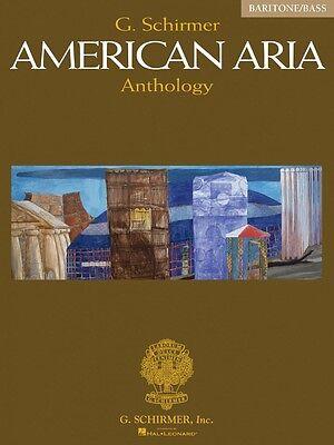G Schirmer Bass Baritone (G. Schirmer American Aria Anthology Baritone Bass Vocal Collection 050484626 )