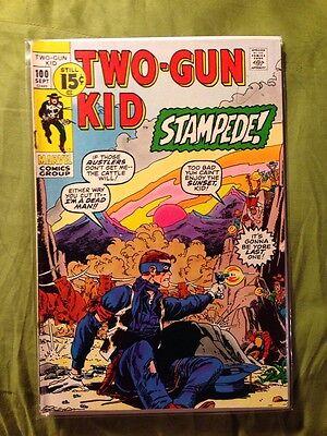 Two-Gun Kid #100 FN- September 1971 Bronze Age Marvel Comics Western