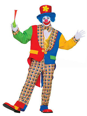 Clown On The Town Birthday Adult Costume](The Town Costumes)