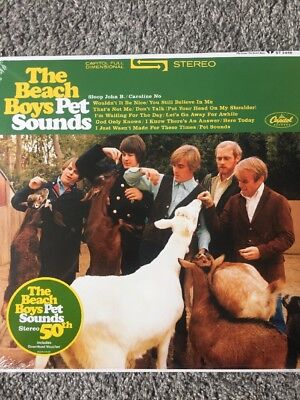 The Beach Boys 'Pet Sounds' STEREO  Vinyl LP  & Free Download - New & Sealed