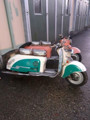 Oldtimer scooter iwl originele staat