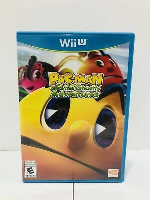 Pac-Man and the Ghostly Adventures (Nintendo Wii U, 2013) Ships Free!!