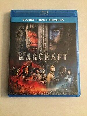Warcraft  Blu Ray Dvd  2016  2 Disc Set  Includes Digital Copy