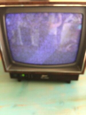"Vintage Zenith SPACE COMMAND 13"" Color Television - Excellent LOOK"