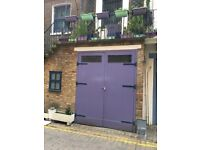 FANTASTIC GARAGE available for storage or artist's studio space | Kensington (SW5)