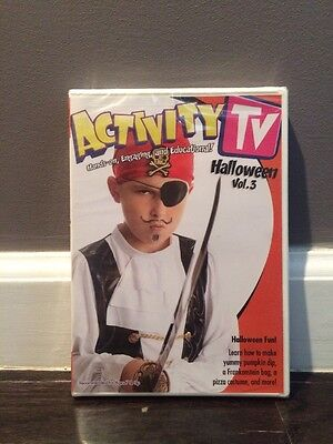 ActivityTV Halloween V.3 DVD New